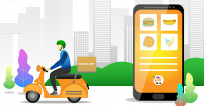 Cross platform app Food Delivery App